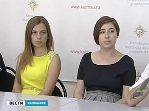В Калмыцком университете будут учиться 16 выпускников крымских школ