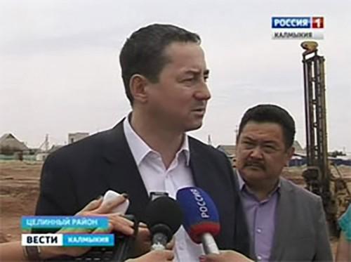 Игорь Зотов с рабочей поездкой побывал в Целинном районе