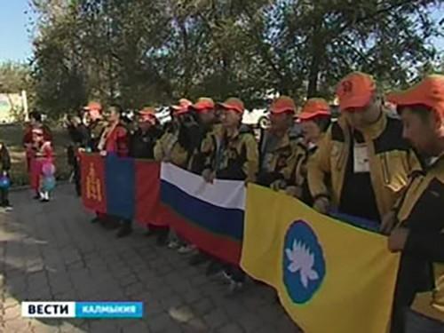 Участники экспедиции «По следам кочевников» прибыли в Яшкульский район