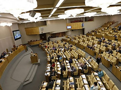 Правительство внесло в Госдуму проект бюджета-2015