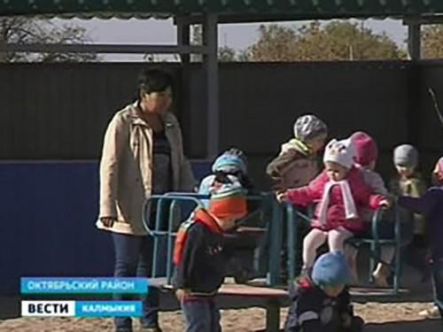 Для детей Октябрьского района созданы комфортные условия