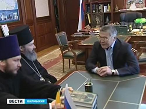 Алексей Орлов встретился с архиепископом Юстинианом