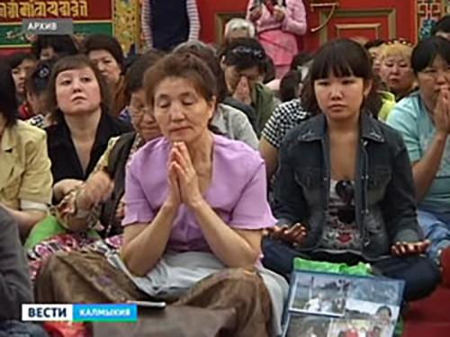 13 ноября — большой буддийский праздник Нисхождение Будды Шакьямуни