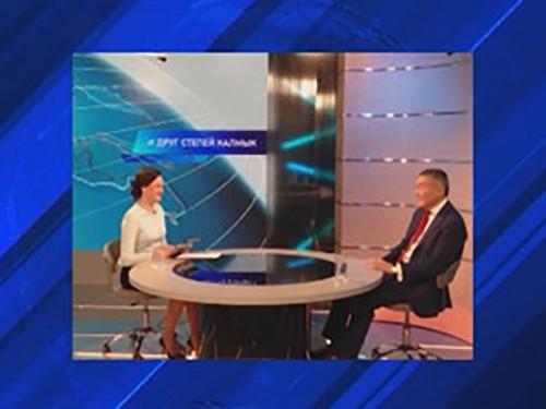 Алексей Орлов ответил на вопросы Общественного телевидения России