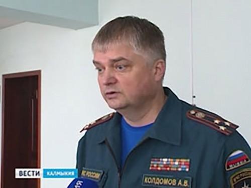 МЧС Калмыкии поделилось планами на 2015 год