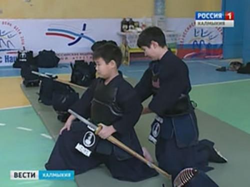 В Элисте прошли соревнования по кендо