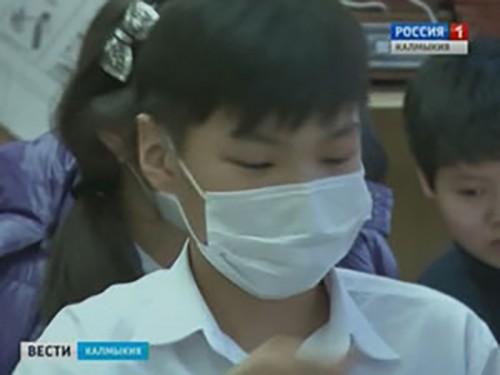 Уровень заболеваемости ОРВИ в Калмыкии не превышает недельный эпидпорог