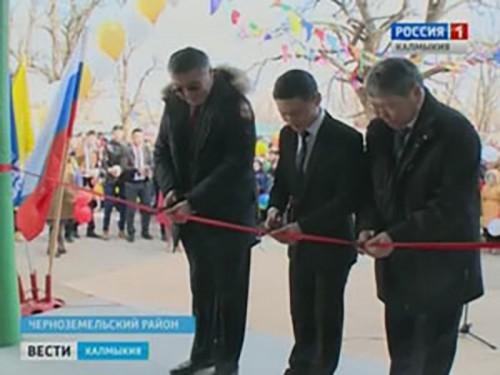 Комсомольская средняя школа вновь распахнула двери для учащихся