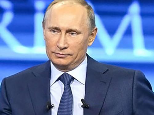 Задайте свой вопрос Владимиру Путину