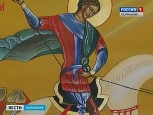 В Элисту прибывает ковчег с десницей святого великомученика Георгия Победоносца