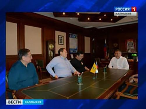 Алексей Орлов встретился с представителями деловых кругов Монголии
