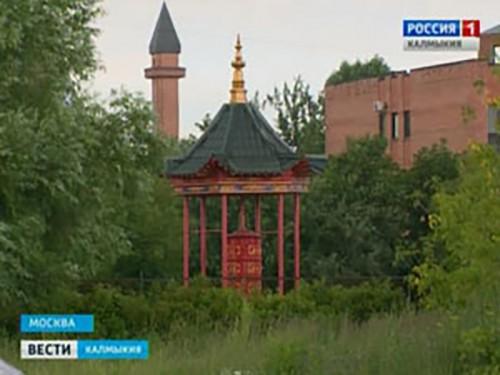 В Москве начато строительство канонического храма и ступы