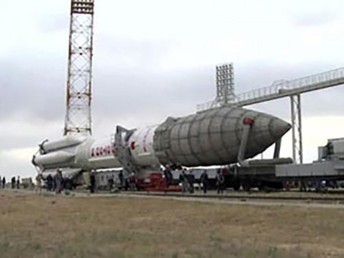 """Ракета-носитель """"Протон-М"""" готова к запуску"""