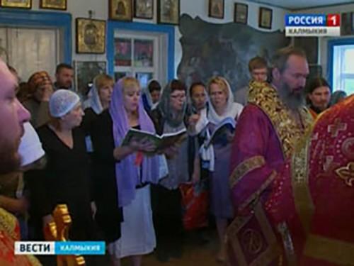 В Крестовоздвиженской церкви Элисты отмечают особое событие