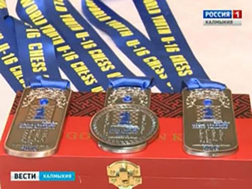 Динара Дорджиева стала бронзовым призёром Всемирной шахматной юношеской олимпиады