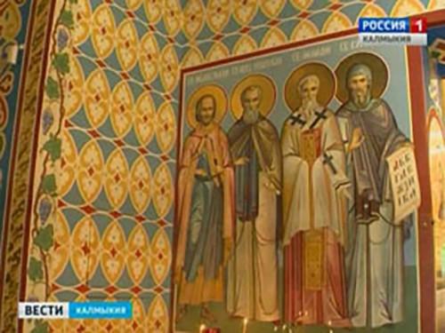 В Элисту доставлены мощи святого благоверного князя Михаила Тверского