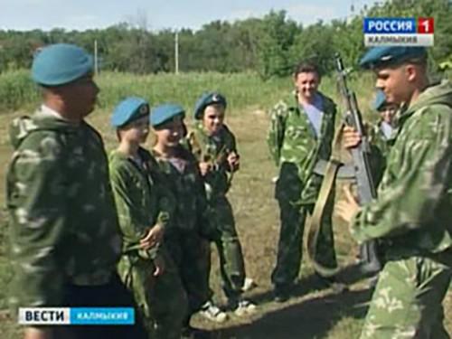 Юные десантники Калмыкии выступят на турнире по рукопашному бою