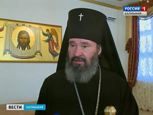Архиепископ Элистинский и Калмыцкий Юстиниан отметил успех радиожурналиста ГТРК «Калмыкия»