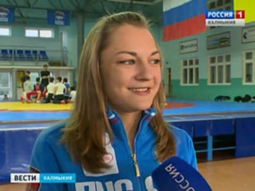 Элистинка Елизавета Жигачева будет бороться на поясах за сборную России