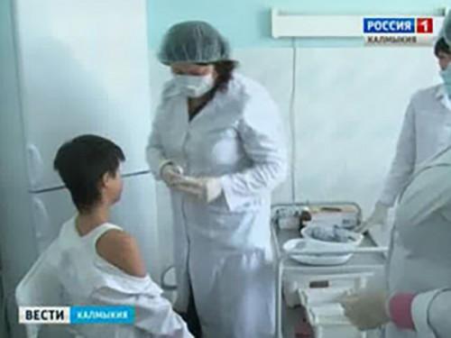 В Калмыкию поступила очередная партия противогриппозной вакцины