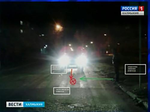 В Элисте на переходе сбили пешехода