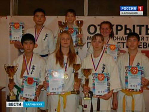 Сборная Калмыкии завоевала 7 медалей по карате