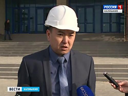 Строительство спортивного комплекса близится к завершению