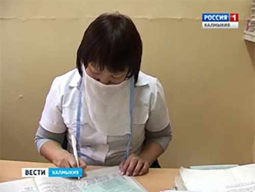 В Элисте 61 человек находится в инфекционной больнице с диагнозом ОРВИ