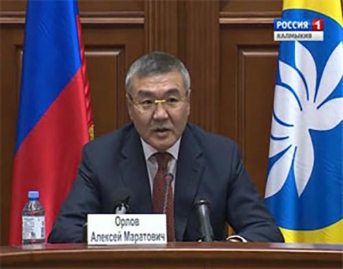 Встреча Главы Республики Калмыкия Алексея Орлова с руководителями СМИ