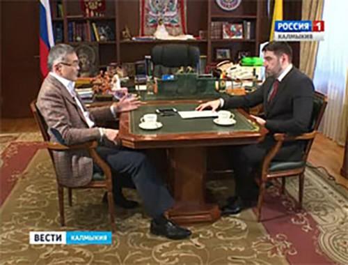 Алексей Орлов дал интервью общественно-политической газете «Коммерсант»