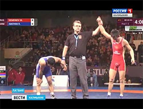 Мингиян Семенов завоевал золото на Чемпионате Европы в Латвии