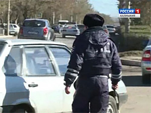 За минувшую неделю в Калмыкии зарегистрированы 8 ДТП