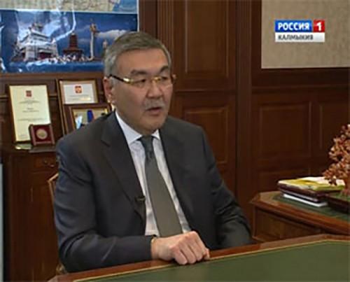 Интервью с Главой Калмыкии Алексеем Орловым