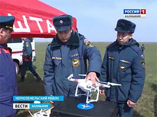 Заключено соглашение МЧС Калмыкии с заповедником «Черные земли»