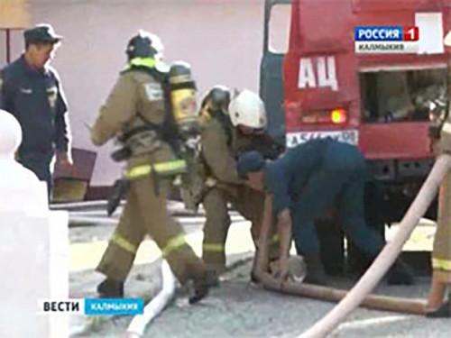 За минувшую неделю на территории Калмыкии зарегистрировано два пожара