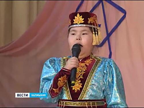 Победителем Интернет-голосования конкурса «Теегин айс» стала Бальджир Бухаева
