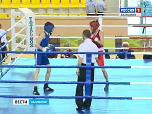 В Элисте продолжаются поединки Первенства ЮФО по боксу среди юниоров