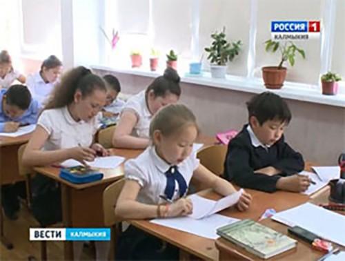 Выпускники начальной школы республики пишут итоговые всероссийские проверочные работы