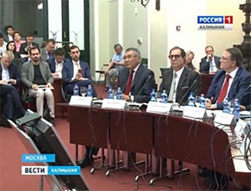Глава Калмыкии Алексей Орлов принял участие в заседании Итало-Российской торговой палаты