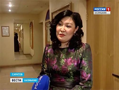 Герензел Мацакова представит Калмыкию на конкурсе вокалистов в Саратове