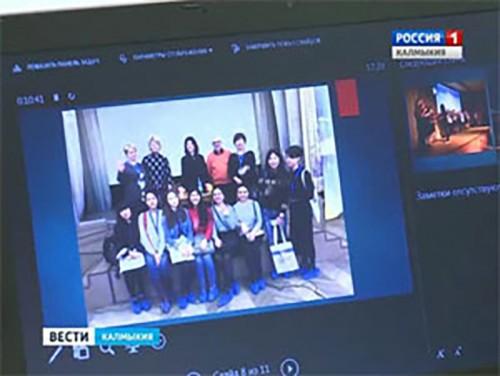 Элистинские лицеисты приняли участие в Читательском форуме в Санкт-Петербурге