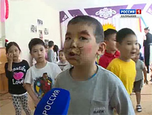 Актеры Русского театра драмы и комедии показали спектакль для слабовидящих детей