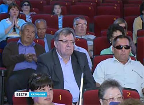 Калмыцкое отделение Всероссийского общества слепых отметило 85-летний юбилей