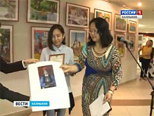 Конкурс юных художников в стенах музея