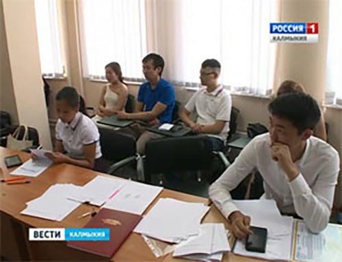 Игорь Зотов проэкзаменовал магистрантов КалмГУ