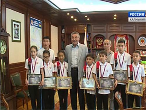Юные спортсмены из Калмыкии призёры первенства Европы по каратэ