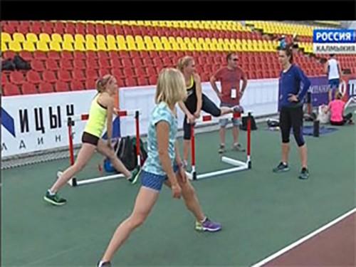 Калмыцкие болельщики поддерживают российских спортсменов на олимпиаде в Бразилии