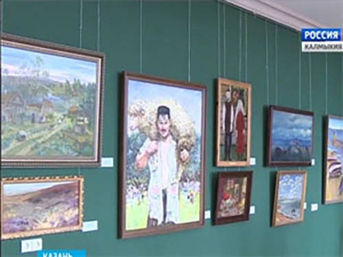 В музее Казанского Кремля открылась художественная выставка «Волжский Арт-экспресс»