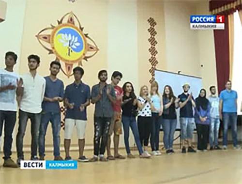 Калмыкия встречает волонтеров