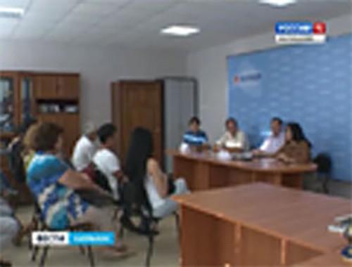 Александр Брод встретился с журналистами Калмыкии